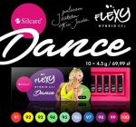 zestaw DANCE 91-100 hybrydy FLEXY Silcare 10x4,5g flexi set