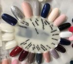 indigo Sin City Gel Polish 7 ml Sara Boruc Mannei lakier hybrydowy gel brush