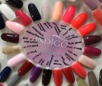 indigo Matrioshka gel polish 5ml hybrydy gel brush